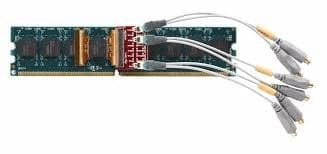 Scope probes on a interposer on a DIMM